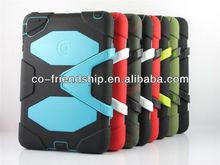 hybrid shockproof silicon case for ipad mini mini2