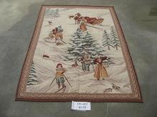Indian tribal handmade sari tapestry wall hanging