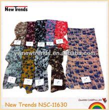 Big and small elepant print children scarf