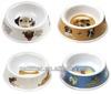 2014 high quality 100% melamine eco-friendly plastic dog bowl pet product bowl