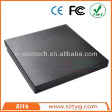 ECD011-UI 9.5mm Mini Laptop USB2.0 IDE DVD Burner Case , USB Laptop cd-rom External Enclosure