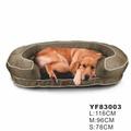 carro em forma de cão cama