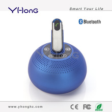 With 360 degree sound field, supporting TF card & Hand-free, bluetooth 3.0 bluetooth wireless portable music angel speaker