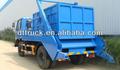 Dongfeng novo braço oscilante caminhão de lixo recipiente wth capacidade de 6000l, preço de fábrica