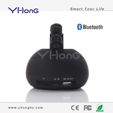 With 360 degree sound field, supporting TF card & Hand-free, bluetooth 3.0 fm radio usb sd card reader speaker