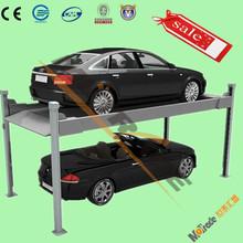 2 floor four legs car parking equipment