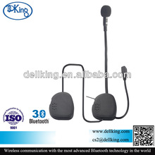 Fashion full face motorcycle helmet bluetooth intercom with PTT handle bar remote control supported