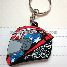 motorcycle race helmet keychain, motorcycle safety helmet key chain