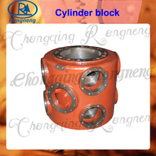 VW type compressor cylinder block