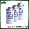 oem design car air-conditioner gas refrigerant hfc r134a