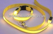 NEW Fashion light up pet collar led dog leash