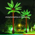 Decorativa falso palma/coco do tronco da árvore de led iluminação 4.5m 2014 novo produto artificial de plantas