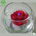 Minki hochwertige großhandel künstliche blumen mit led-leuchten