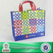 Reinforced Long Handles Large Reusable Tote Shopping Bags