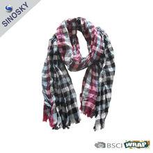 fashion lady 70% cotton 30% viscose scarf