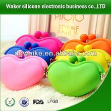 2014 Fashion Silicone Bag ,Silicone Purse.Silicone Coin Purse,silica rubber coin purse