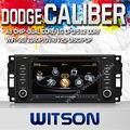 Witson 2 din dvd de voiture pour dodge caliber avec a8 chipsetcouleurs 1080p v-20disc 3g wifi internet de soutien dvr