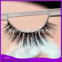 Top quality mink eyelash, strip eyelash, eyelash factory