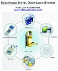 hotel electronic door lock with card key