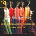 Ingrosso paraffina candele colorate/illuminazione candela/decorazione candela