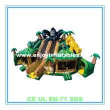 2014 monkey/tiger/lion/jungle paradise icon/inflatable amusement playground