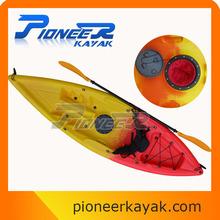 Single person plastic kayak