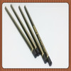 2014 New High quality triangle pencil with gold logo printing