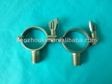 food processing sanitary tube pipe holder