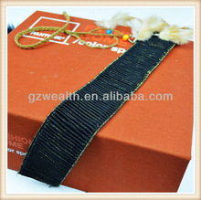 Decorative women garment jacquard textile elastic band made in China