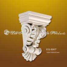 Precio de fábrica de la PU ménsula / decorativo corbel para exterior decoración