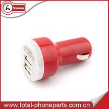 Compact design 5V 2.1A Mini car charger usb