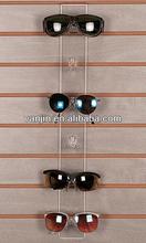 Clear Wall Mounted 6 Pieces Acrylic Slat Wall Fashionable Eyeglasses Display Shelf 6131404203