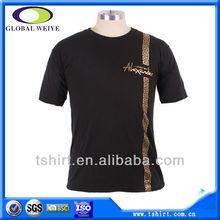 Custom silver printing logo men t shirt manufacturer bangladesh