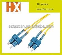 G657/G655/G652 fiber 3.0mmm fiber optic patch cord 4 core optic fiber cable