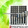 4 polegadas bomba de água solar( incluem o painel solar) com 4cbm/h 109m, irrigação agrícola da bomba de água, motor para a fonte de água