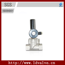 """1-1/2"""" Normally Open/Normally Close Stainless Steel NPT Gas Emergency Disconnection Solenoid Valve"""