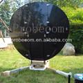 De posicionamiento por satélite 1.2m auto banda ku compensar plato