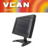 Best 10 inch HD Professional slim car TFT LED HDMI tv Monitor vga Remote OSD car touch screen portable car monitor