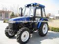 70hp 4wd 4- cilindro de la epa del motor nuevo tractor de granja lista de precios