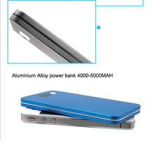 external power handphone battery charger 5000MAH aluminium alloy power bank L374 alibaba china supplier top selling power bank