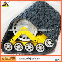 All-terrain SUV conversion system /rubber track vehicle/ SUV Pickup triangular pedrail wheel vender