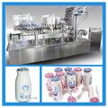 Completamente automático Aluminuim papel de leche / jugo de llenado y sellado de la máquina