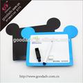 Regalos promocionales de dibujos animados respetuoso del medio ambiente del tablero de dibujo magnética mini