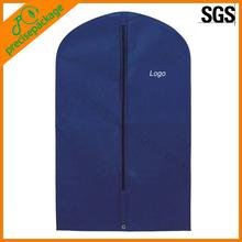 cheap reusable luxury non woven hanging garment bag travel
