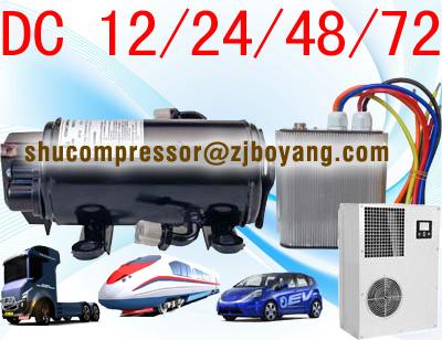 SHM Electric Air Conditioning Compressor -3753