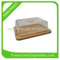 Brot box klarsichtdeckel aus holz