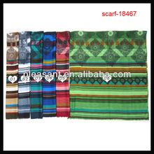 fashion women stripe shawls wholesale