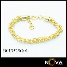 deisgn nuovo 14k heavey braccialetto bracciale catena