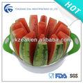 Zeal calidad superior y alta calidad de plástico de colores de acero inoxidable melón y la fruta del cortador CC003C