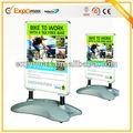 a1 de aluminio a prueba de agua waterbase soporte del cartel led señales de pavimento